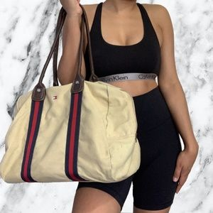 Authentic Tommy Hilfiger Khaki Bag
